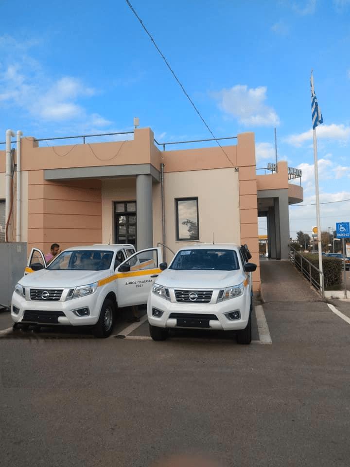 O Δήμος Πλατανιά ενισχύει τις υπηρεσίες του με Nissan NAVARA