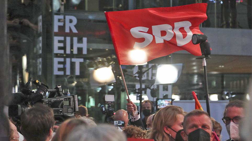 Γερμανικές εκλογές: Πρώτο το SPD με 25,7% – Τελικά αποτελέσματα με καταμετρημένο το 100% των ψήφων