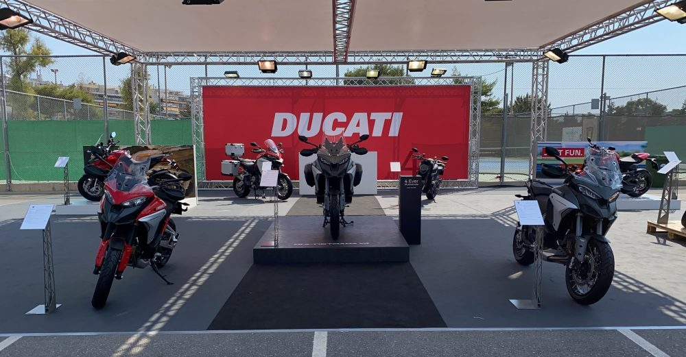 H Ducati στο Motoshow & Electric Bikes Festival 2021