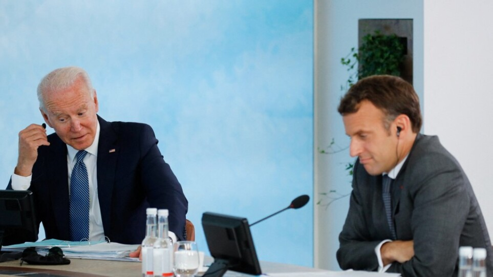 Λευκός Οίκος: Νέα τηλεφωνική επικοινωνία Μπάιντεν με Μακρόν – Συνάντηση των δύο ηγετών στη Ρώμη