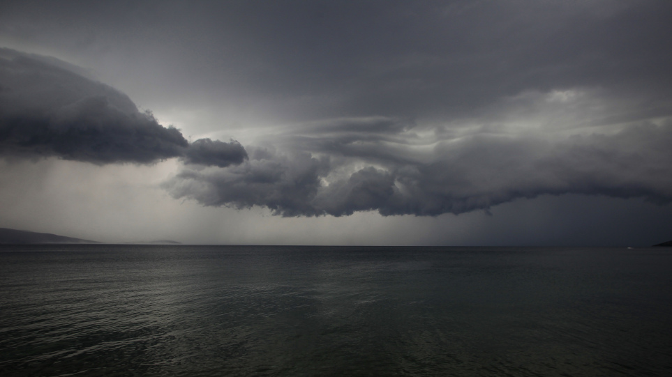 """Κακοκαιρία """"Μπάλλος"""": Ισχυρές βροχές και καταιγίδες στην ανατολική Κρήτη"""