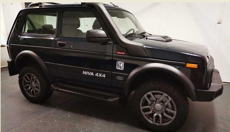 Το θρυλικό Lada Niva σε μια άκρως συλλεκτική έκδοση με τιμή έκπληξη