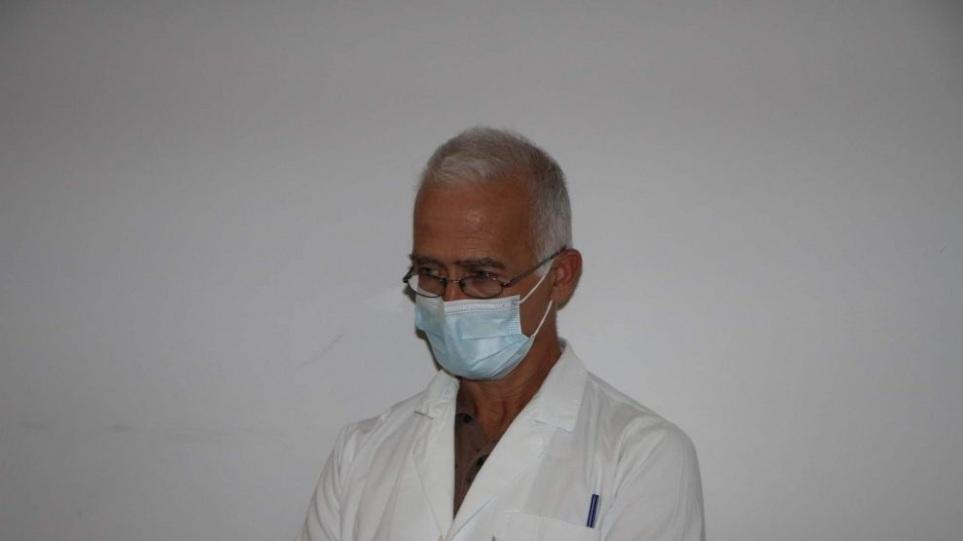 Καλαμάτα: Τελευταίο αντίο στον διευθυντή της κλινικής Covid του νοσοκομείου Νίκο Γραμματικόπουλο