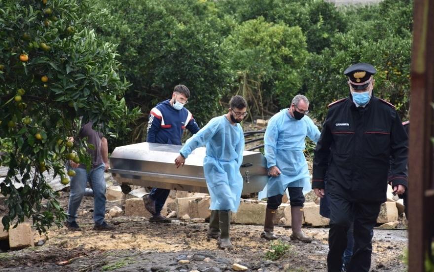 Ιταλία: Ένας νεκρός από τη σφοδρή καταιγίδα στη Σικελία