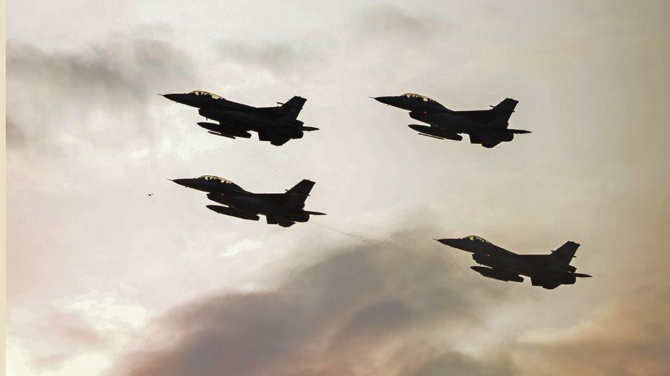 Νέο μπαράζ προκλήσεων: Δεκάδες παραβιάσεις και υπερπτήσεις από τουρκικά F-16