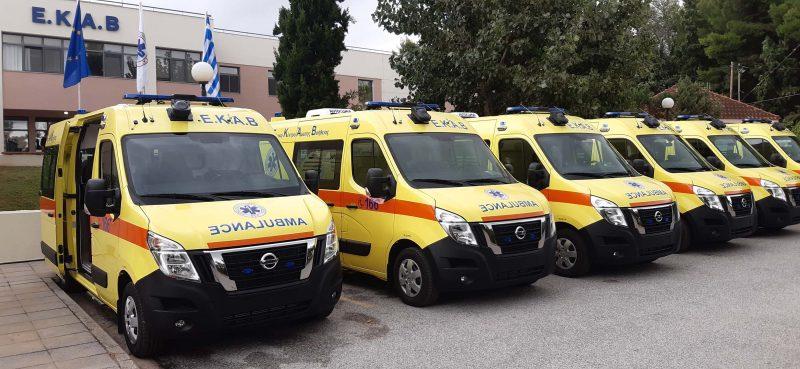 Το Εθνικό Κέντρο Άμεσης Βοήθειας εξοπλίζεται με 25 καινούρια ασθενοφόρα Nissan NV400