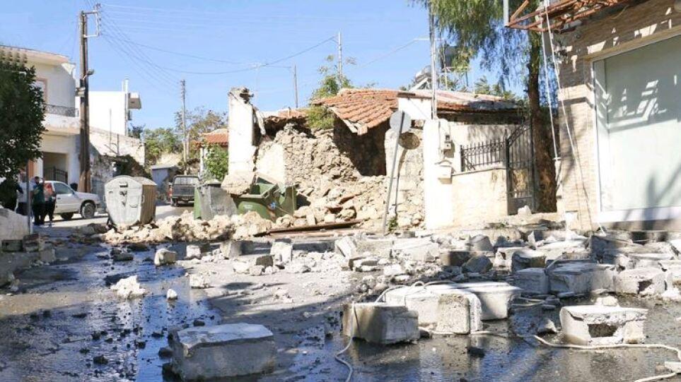 Μηνύματα στήριξης από την ΕΕ για τους σεισμόπληκτους της Κρήτης