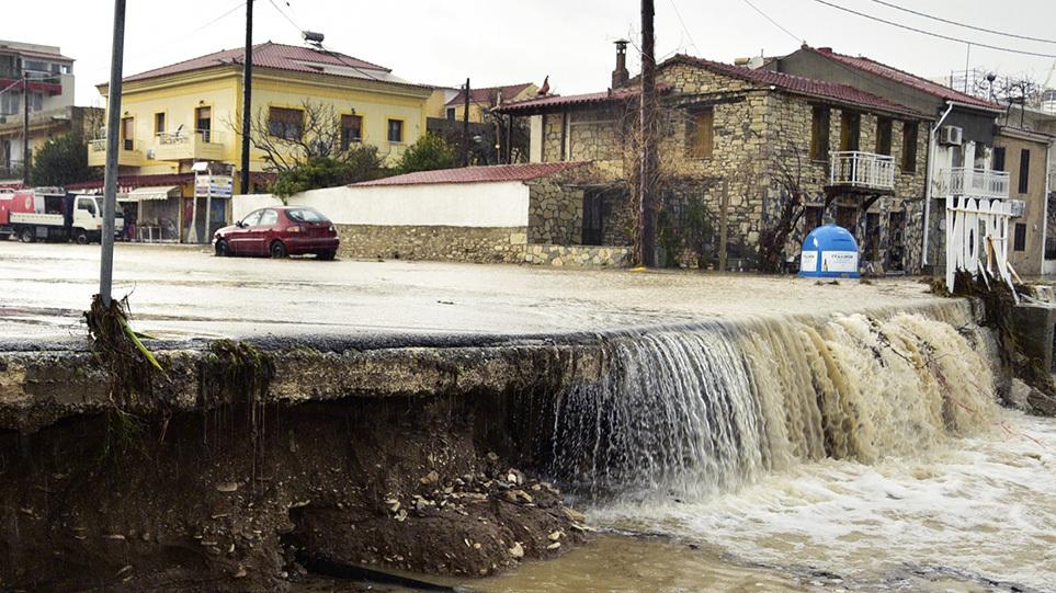 Κακοκαιρία: Συναγερμός για τις  δέκα περιοχές που κινδυνεύουν περισσότερο από τις πλημμύρες – Δείτε ποιες είναι
