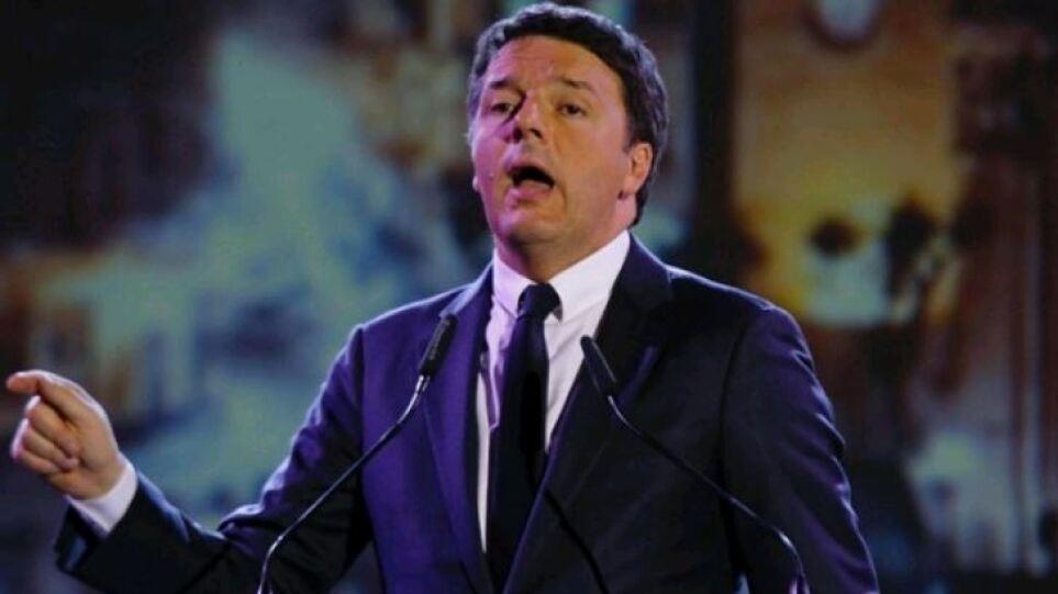 Ρέντσι: Για τον Έλληνα πρωθυπουργό υπάρχει μεγάλη εκτίμηση στις ευρωπαϊκές πρωτεύουσες