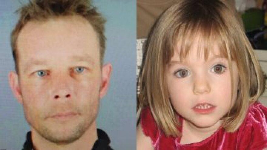 Μαντλίν ΜακΚαν: Γερμανοί εισαγγελείς πιστεύουν ότι την κακοποιήσε και την σκότωσε Γερμανός καταδικασμένος παιδόφιλος