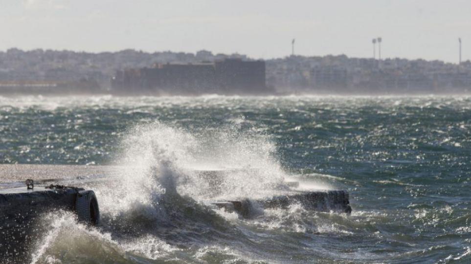 Κακοκαιρία «Αθηνά»: Προβλήματα στα δρομολόγια πλοίων στη βόρεια Ελλάδα