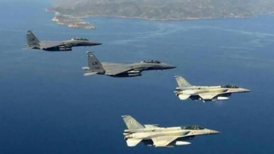 Στις 66 οι παραβιάσεις από τουρκικά αεροσκάφη – Δύο οι εμπλοκές