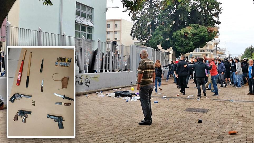 Σταυρούπολη: Υπό αστυνομικό κλοιό το ΕΠΑΛ – Αποβολή δια παντός για όσους συμμετείχαν στα επεισόδια