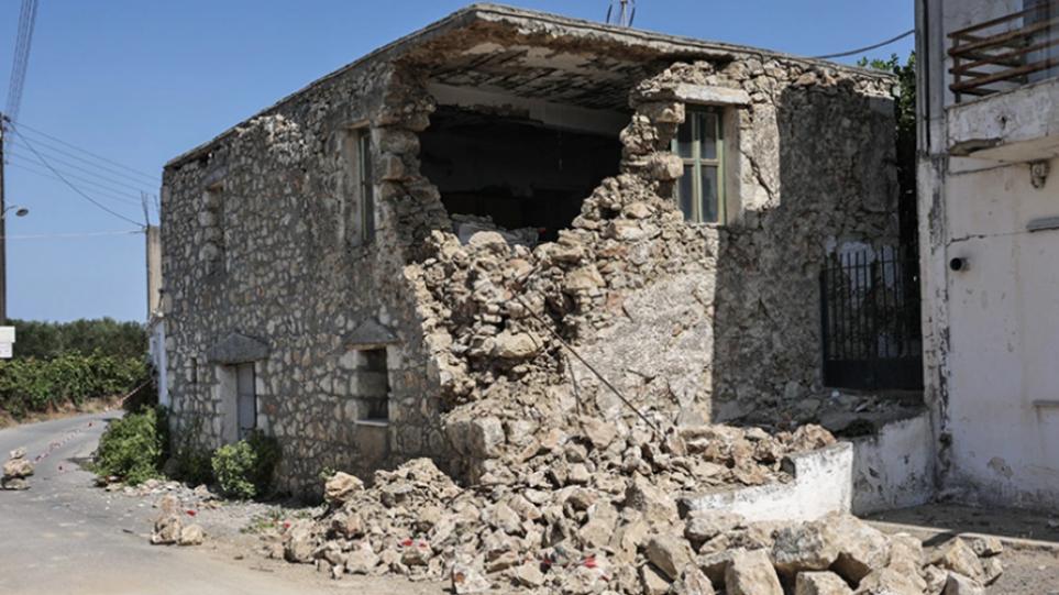 Στον «χορό» των δονήσεων η Κρήτη – Νέος σεισμός 4,1 Ρίχτερ
