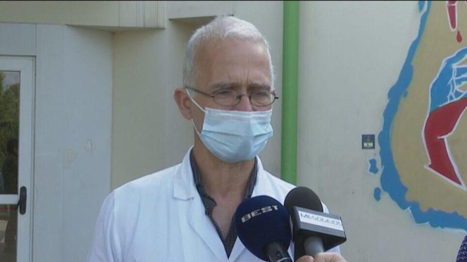 Θρήνος στην Καλαμάτα: Έτσι πέθανε ο διευθυντής της κλινικής Covid του νοσοκομείου Νίκος Γραμματικόπουλος